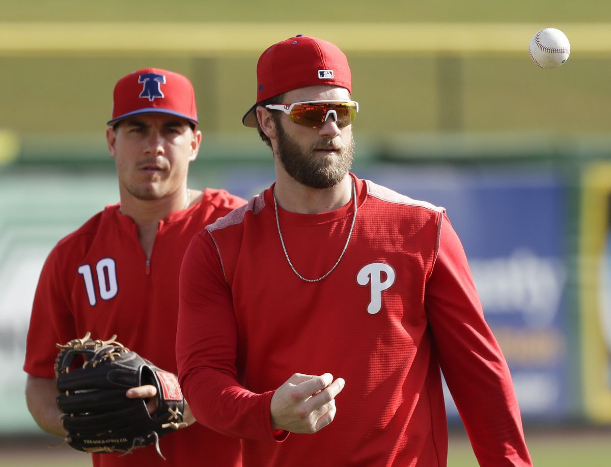 Bryce Harper isn't begging the Phillies to trade for Kris Bryant
