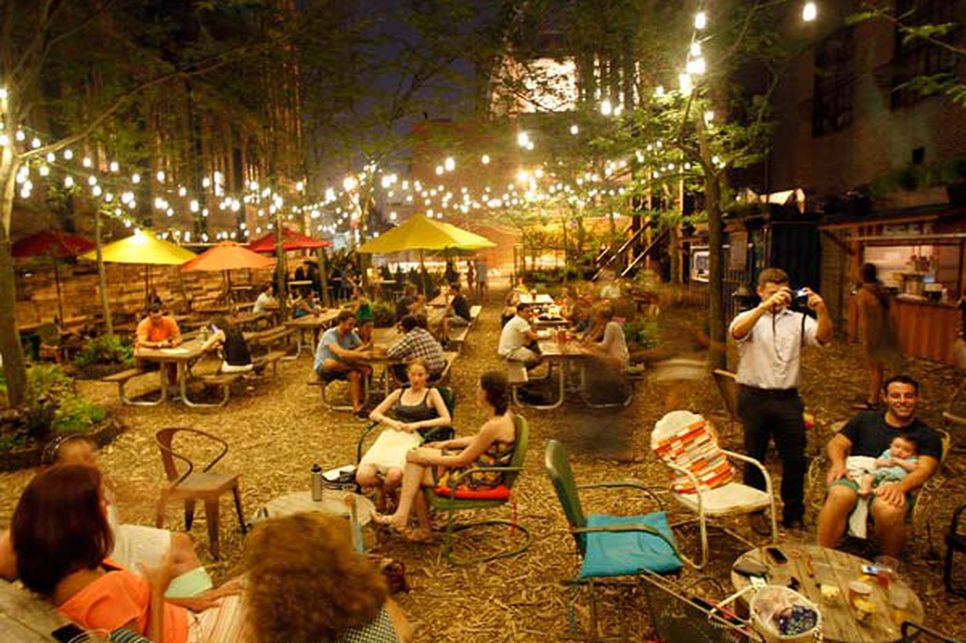 Where to drink outside in Philly this spring and summer