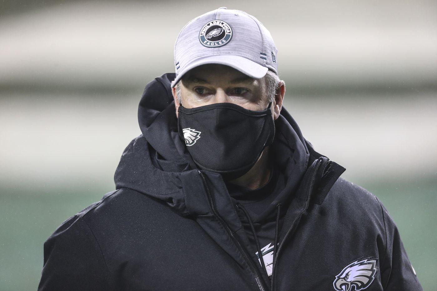 Eagles brass sends clear message in fitting end to dreadful season | Jeff McLane