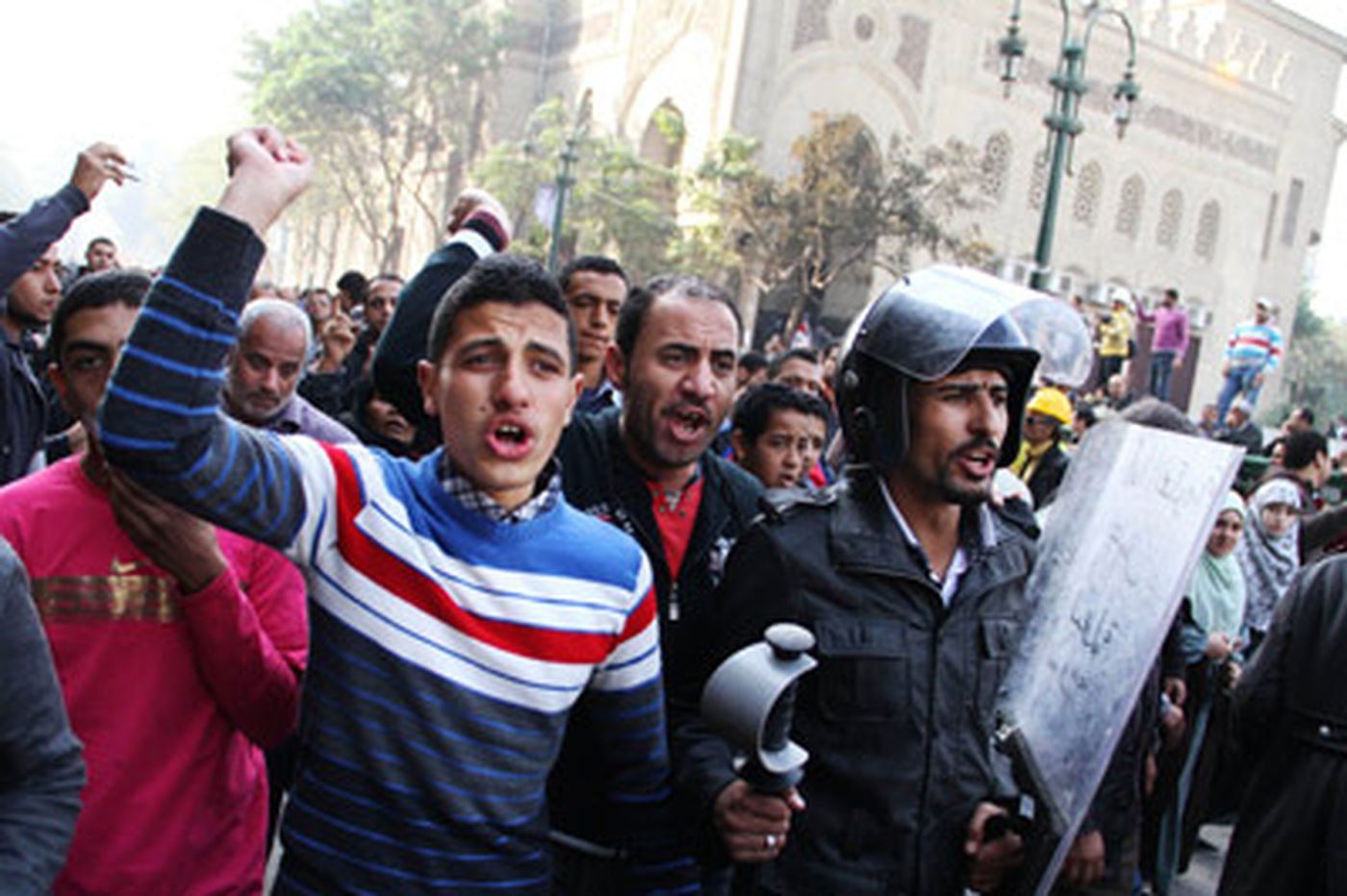 Egyptian military defends crackdown on protesters