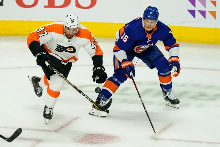 Veteran forward Garnett Wilson impressed enough on Tuesday against the Islanders to remain in contention for opening night roster spot for the Flyers.