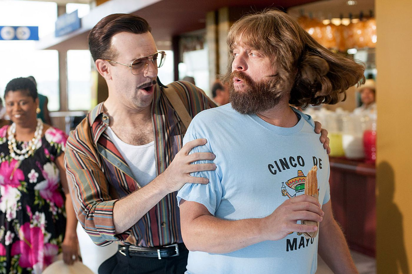 'Masterminds': Zach Galifianakis bumbles brilliantly in slapstick heist rom-com
