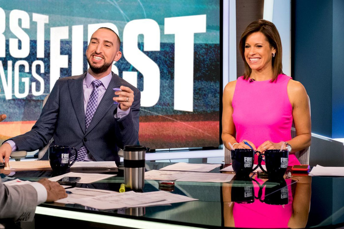 FS1 is finally working on replacing Cris Carter on 'First Things First'