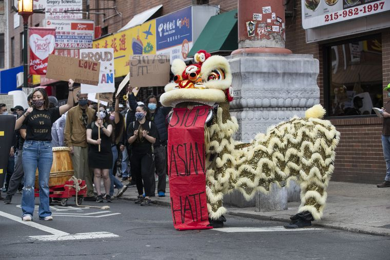www.inquirer.com: Philadelphia rally in solidarity with Asian and Asian American Pacific Islander marches through Chinatown