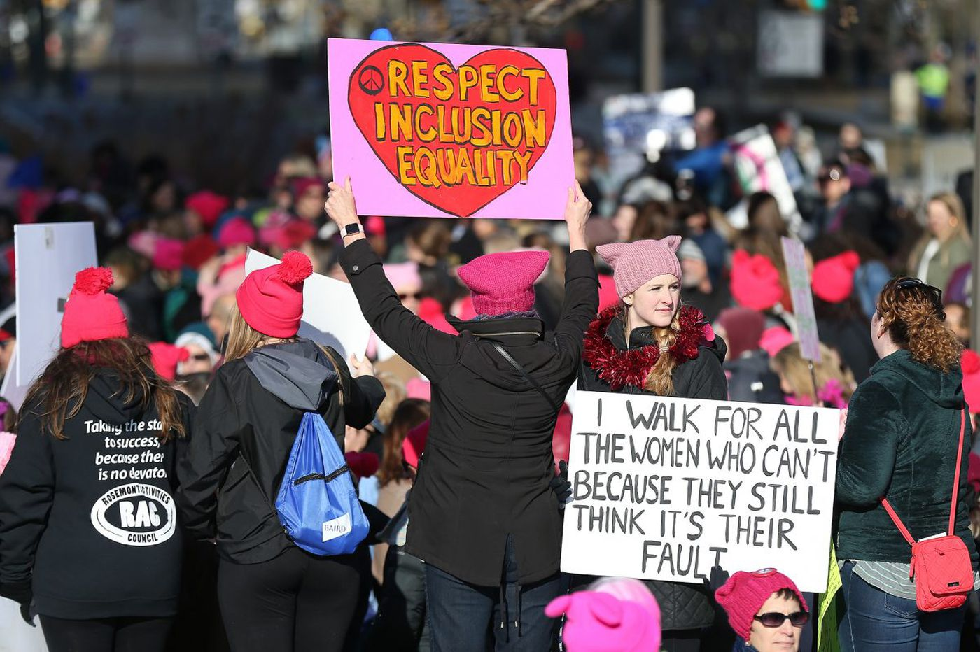Women's March on Philadelphia: As it happened