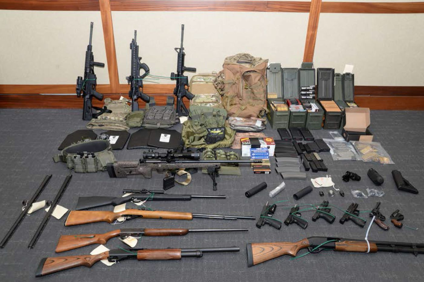 Coast Guard lieutenant ordered held 14 days while prosecutors weigh terror charges