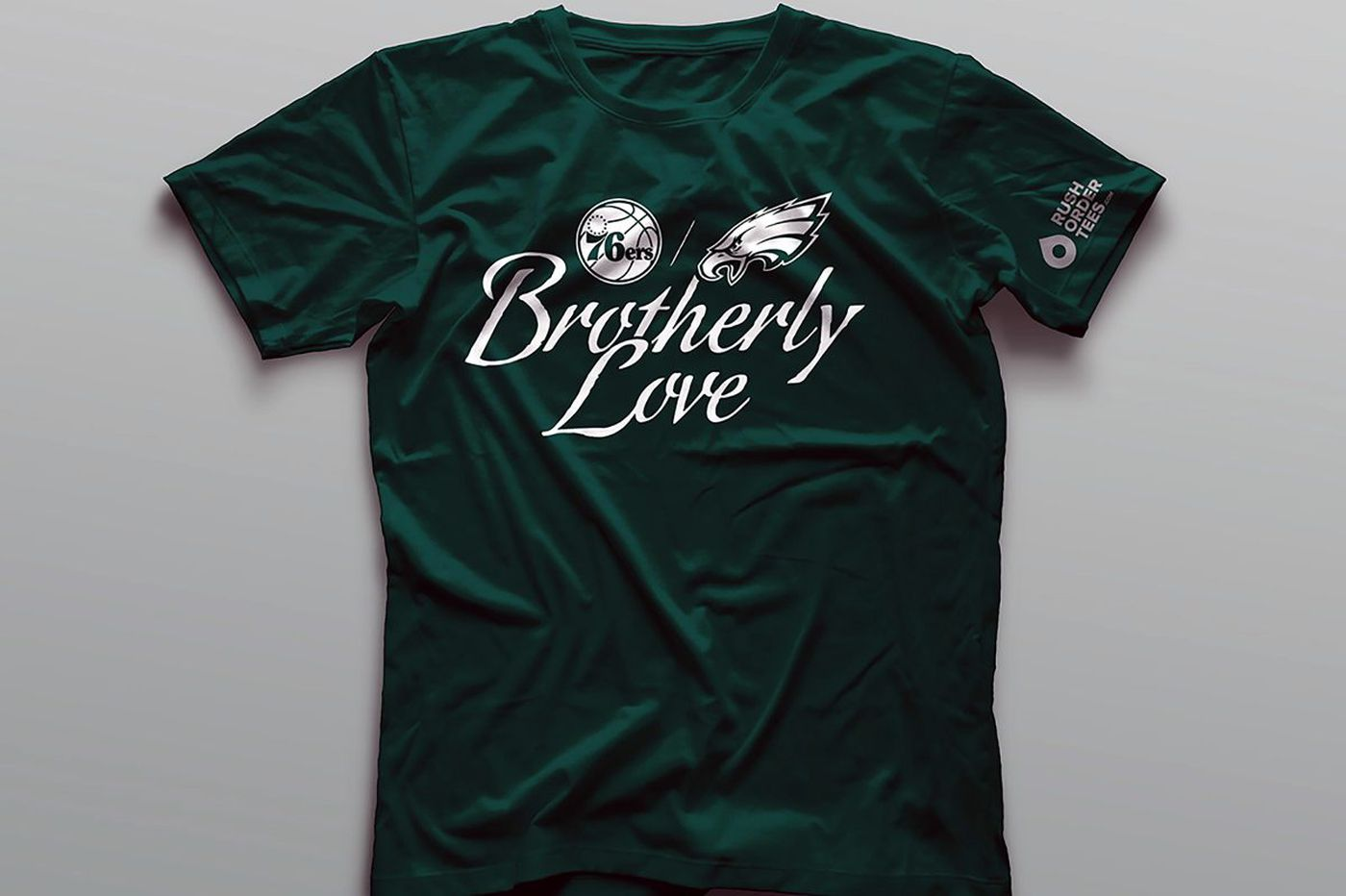 Sixers supporting Eagles with 'Brotherly Love' campaign