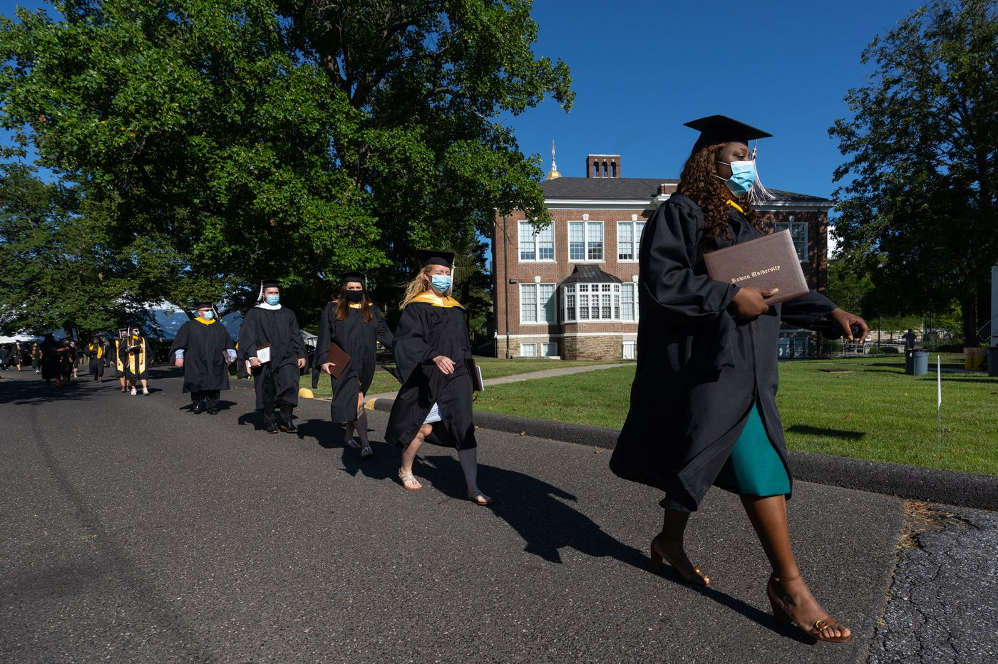 Rowan University is among first in the region to hold in-person commencement