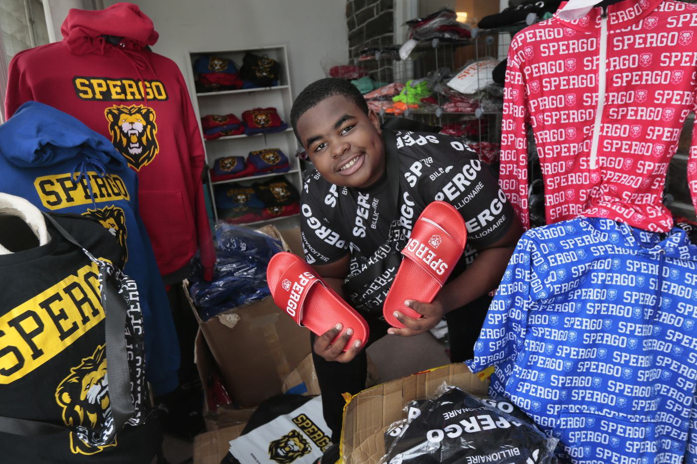 This Lansdowne 13-year-old nabbed a billboard in Times Square for his sportswear brand | Elizabeth Wellington