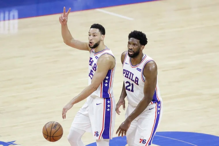 Ben Simmons and Joel Embiid have long been viewed as the franchise cornerstones for the Sixers.