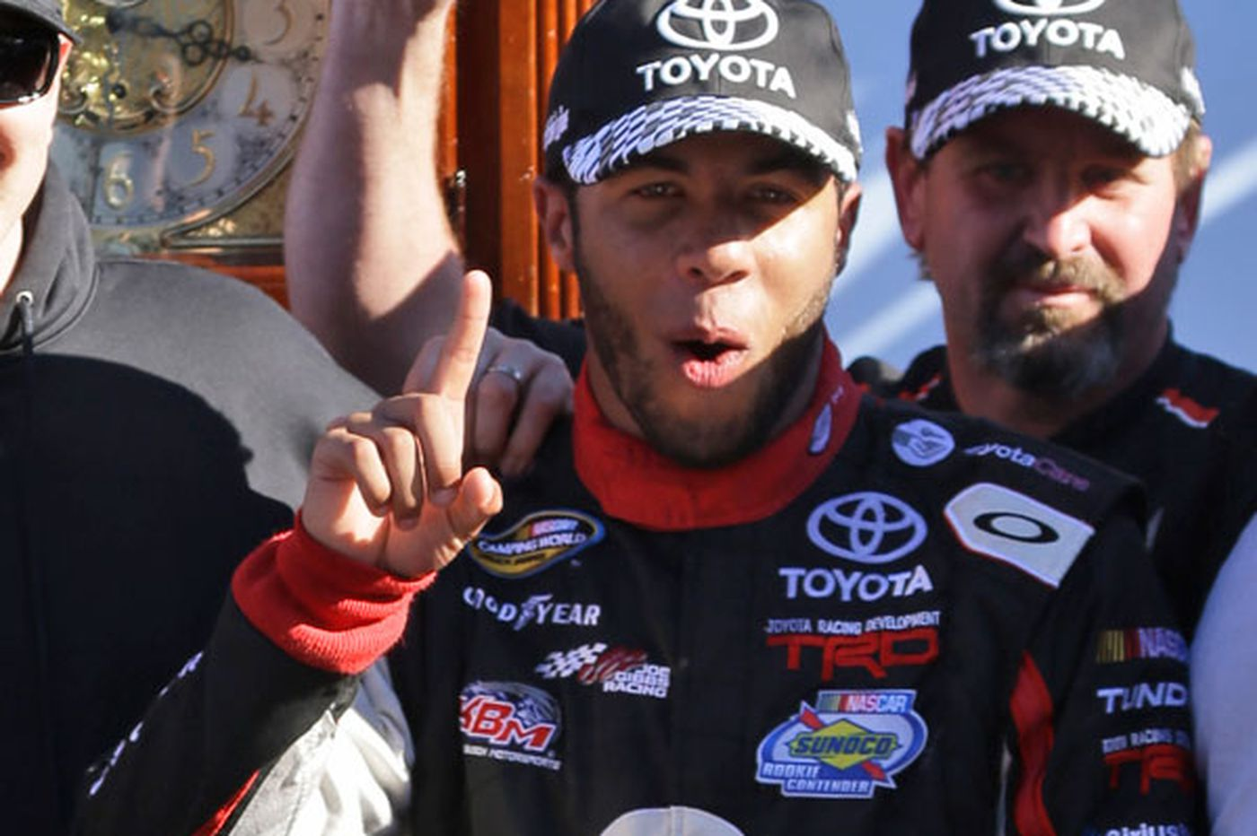 Wallace's victory in truck series is a win for diversity