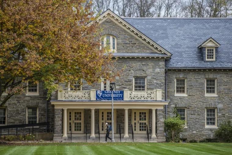 This is Burleigh Hall at Cheyney University.