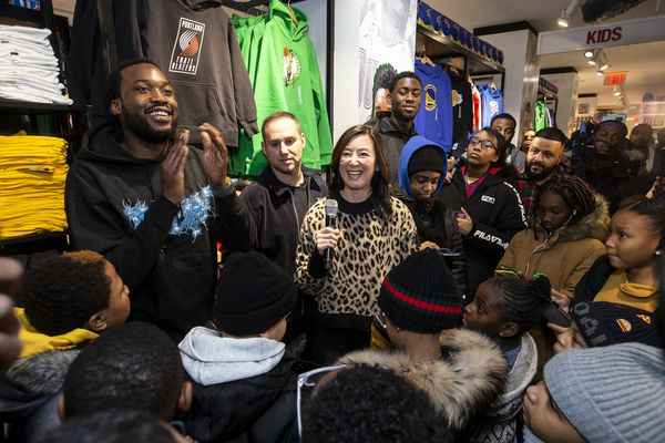 Why Sixers partner Michael Rubin gave 50 families $1,000 each to shop at NYC's NBA Store