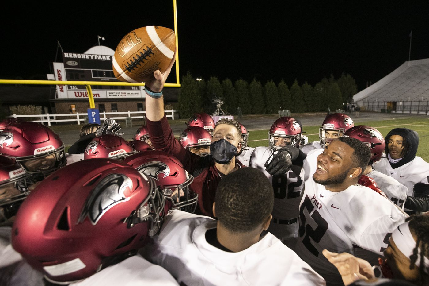 St. Joseph's Prep trounces Central York, 62-13, to capture third straight state championship