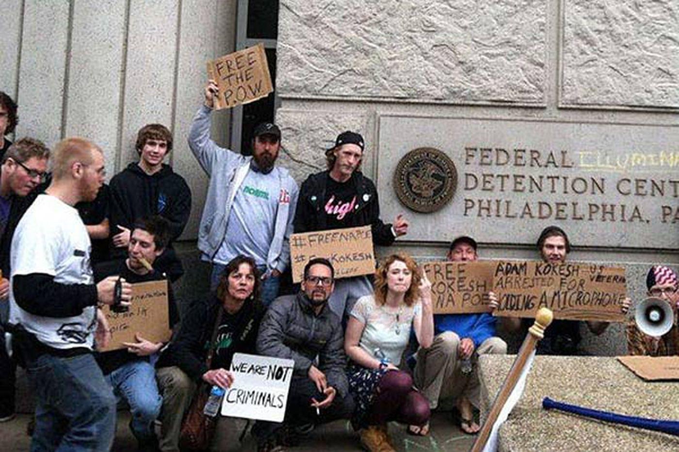 Pot activists reportedly arrested