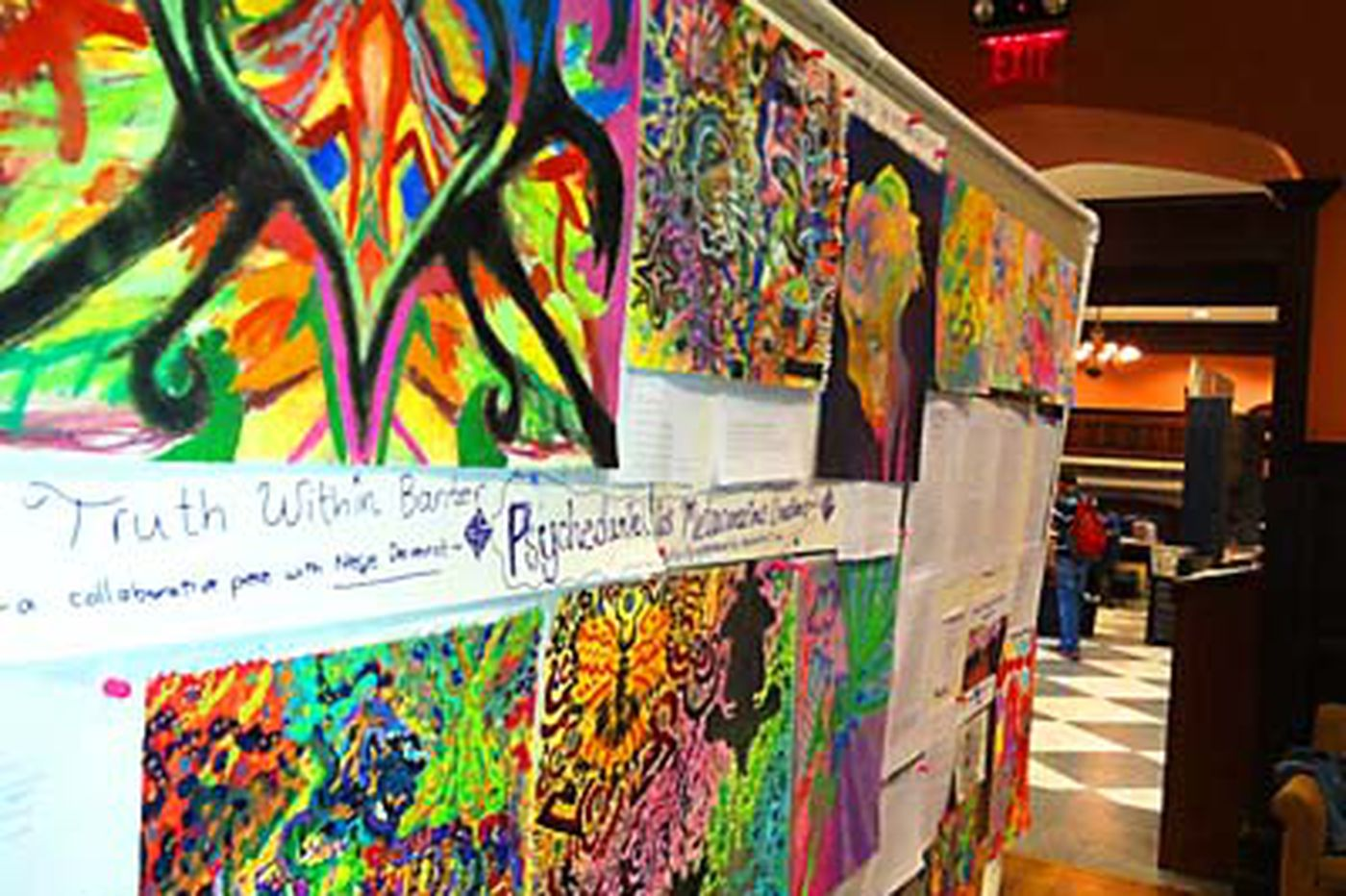 Far out: A psychedelic gathering at Penn