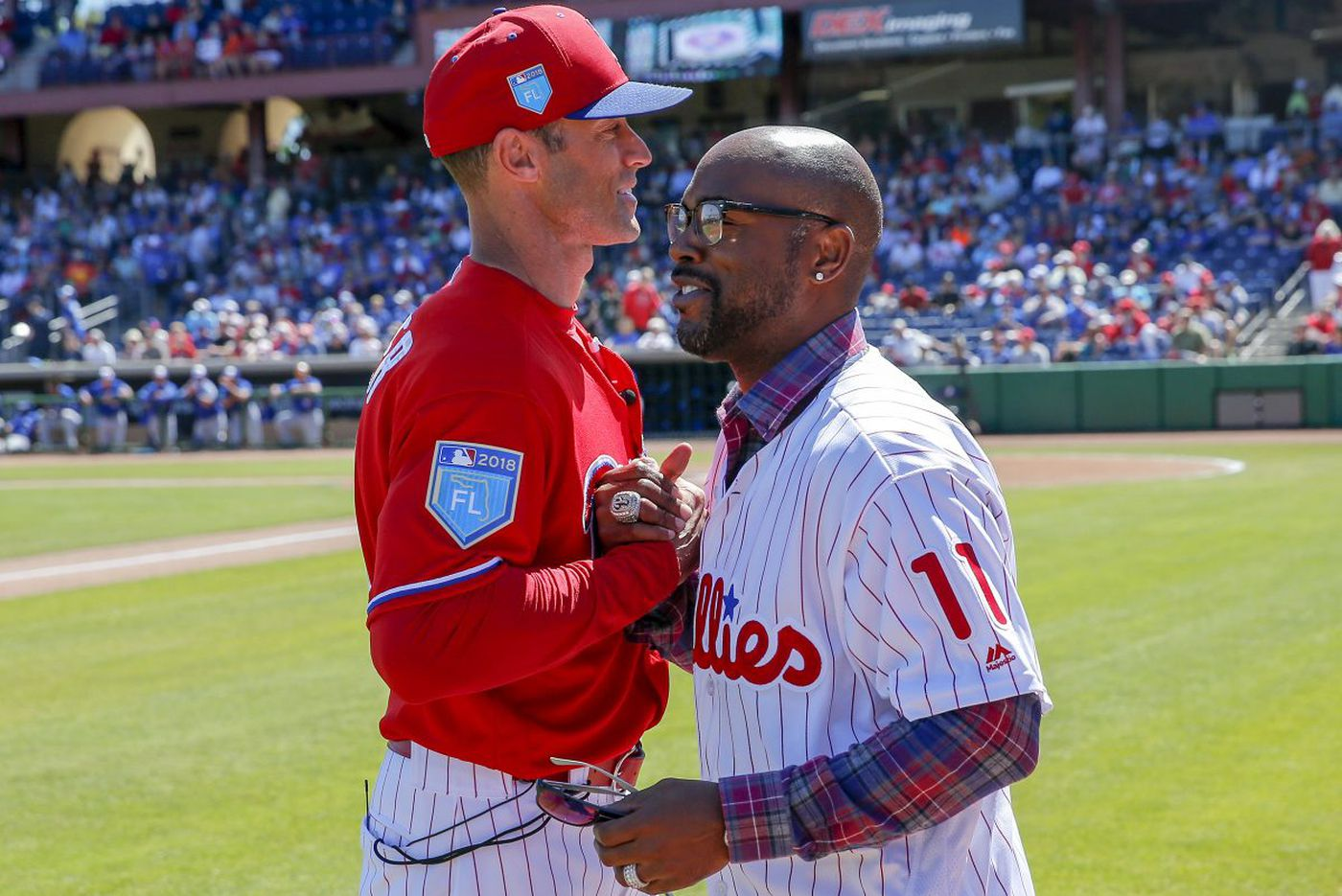 Jimmy Rollins wants to retire as a Phillie, but only his way