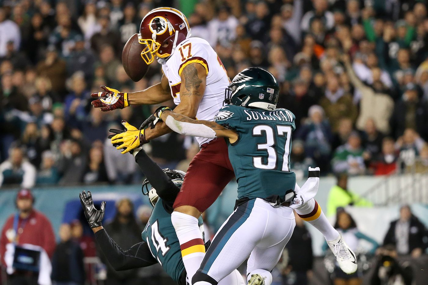 Eagles' Tre Sullivan is finally making his mark after jumping from practice squad to active roster