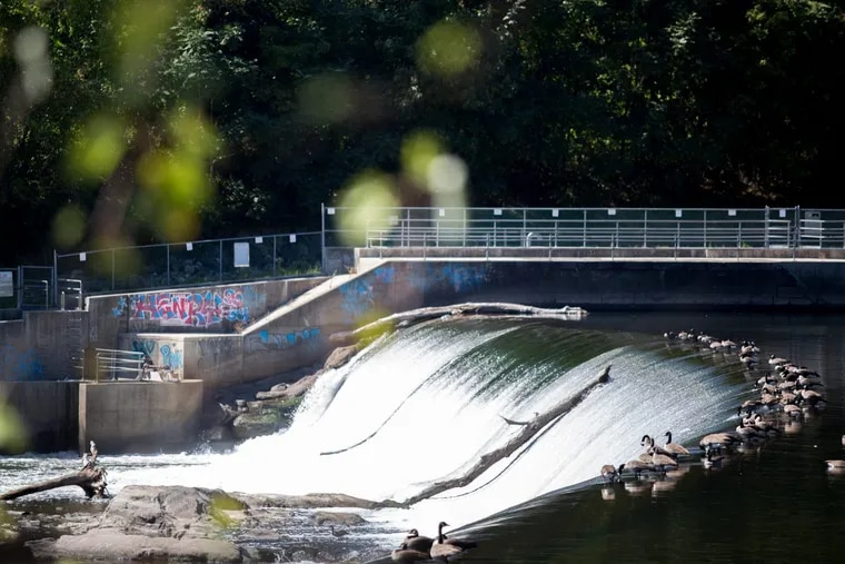 Flat Rock Dam in Manayunk could be a potential source of hydroelectric power.