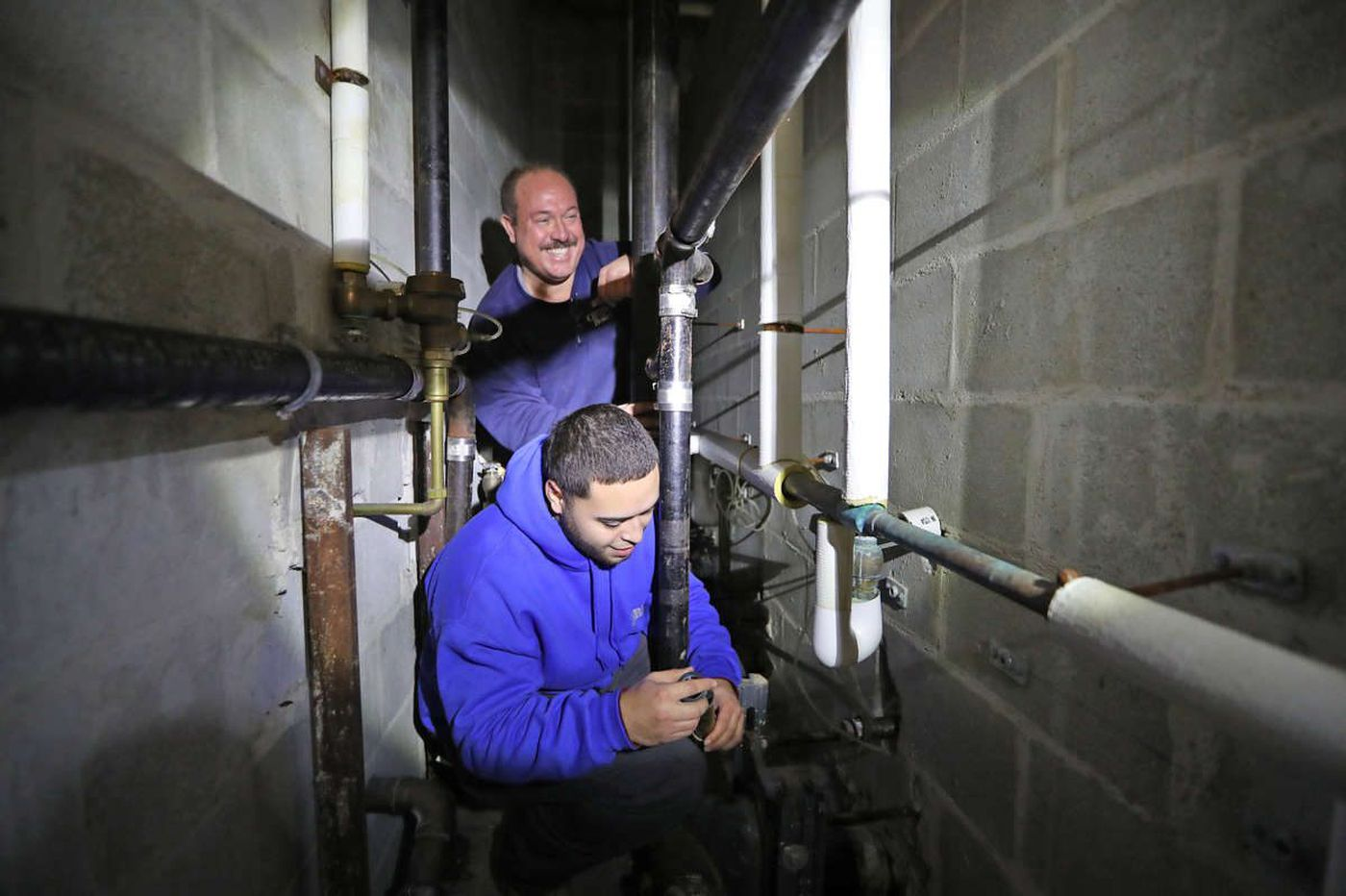 Philly schools can't hire enough plumbers. So they're growing their own