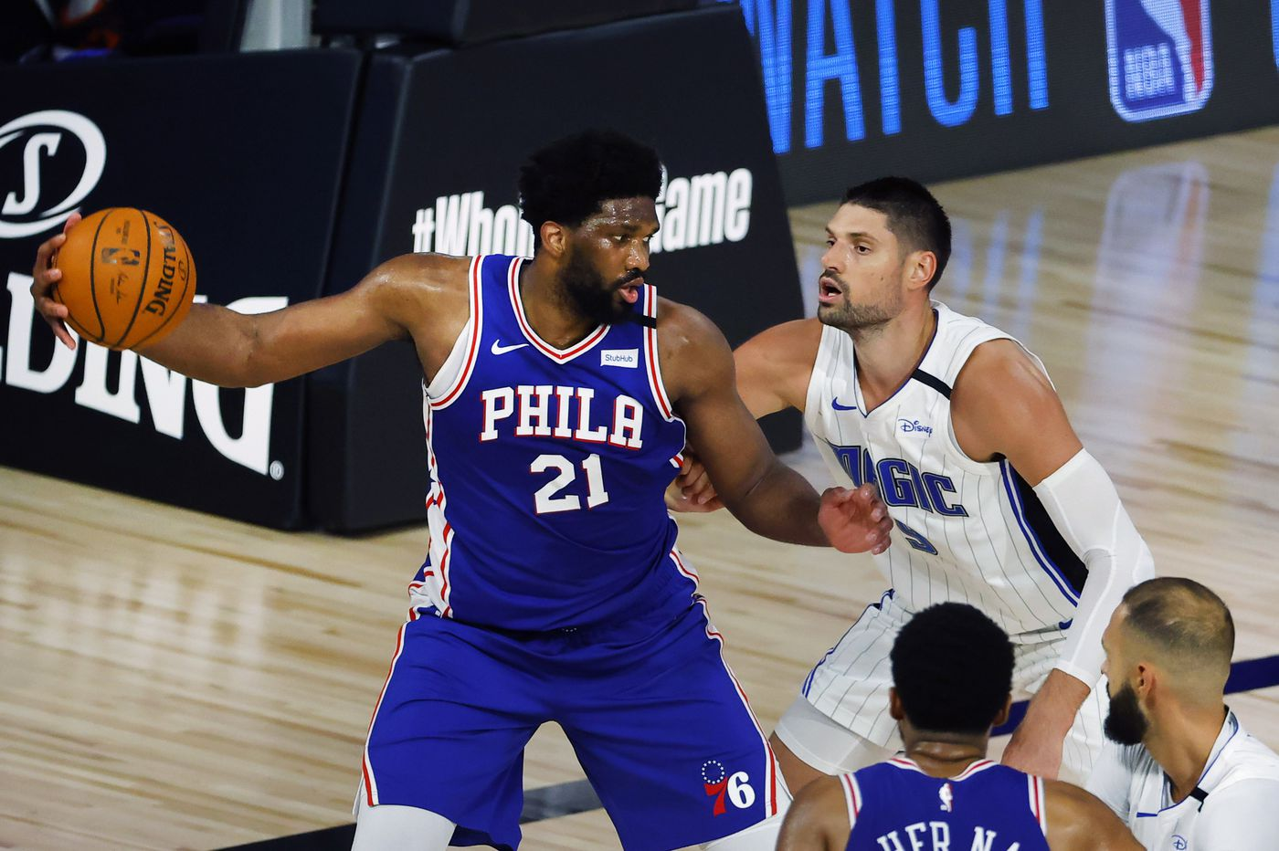 Sixers coach Brett Brown sees an older, more mature leader in Joel Embiid