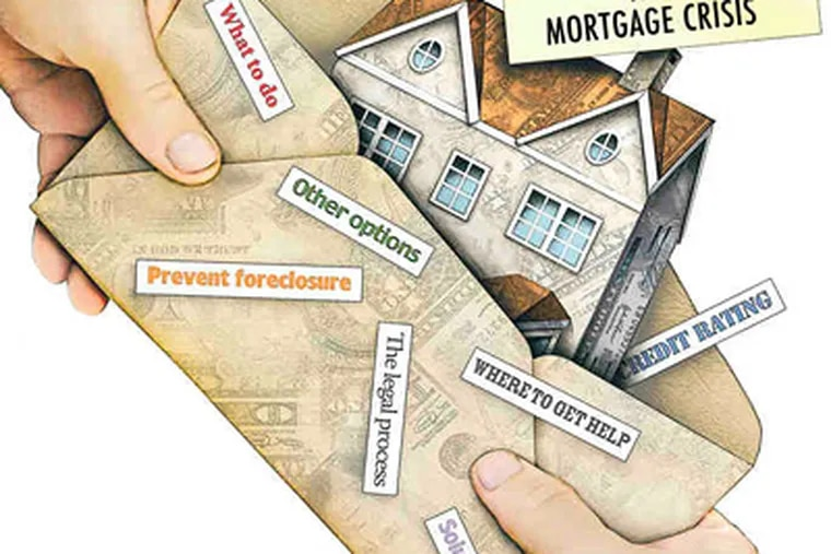 You see it coming: You can't pay the mortgage. What to do? Work with a planner on a financial strategy, and negotiate terms. And do it now. (NAM NGUYEN / Sacramento Bee illustration)