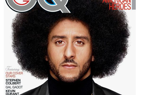Blake Shelton is People magazine's Sexiest Man Alive, but I vote for Colin Kaepernick