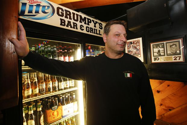 South Philly distilled into a single bar? It just may be Grumpy's Tavern.