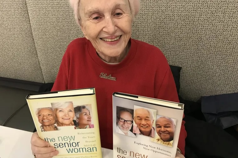 Philadelphia native Thelma Reese founded the blog ElderChicks.com as an outlet for women who retired or are working on their second or third act in life. She just co-authored her second book, 'The New Senior Man' which follows her first book 'The New Senior Woman' with Barbara Fleisher. (Credit: Erin Arvedlund)