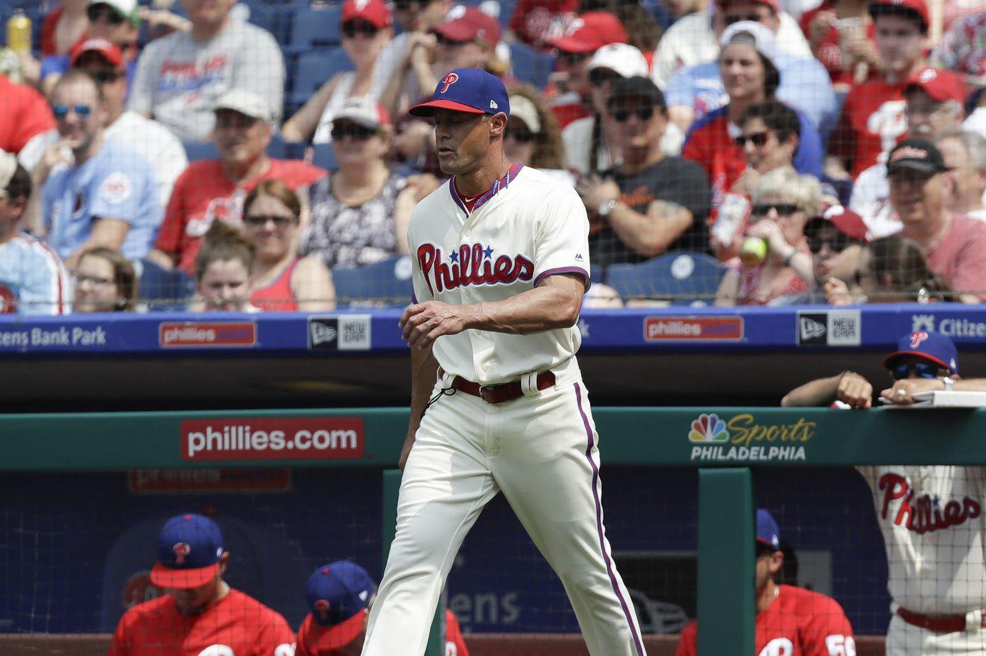 Gabe Kapler isn't God, and the Phillies bullpen has few good options | Mike Sielski