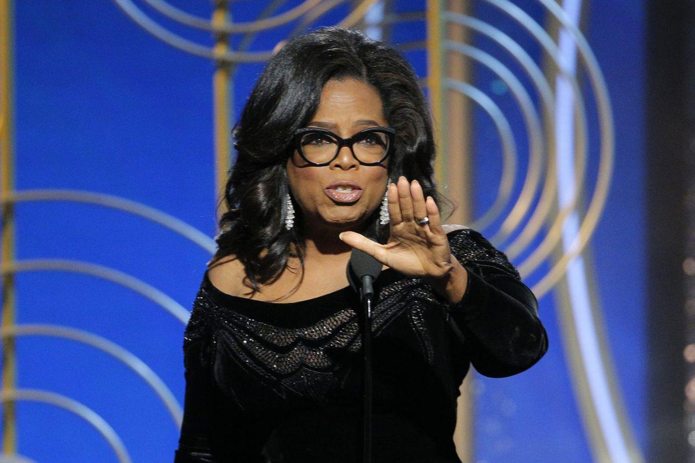 Oprah reportedly considering presidential bid; NBC deletes tweet