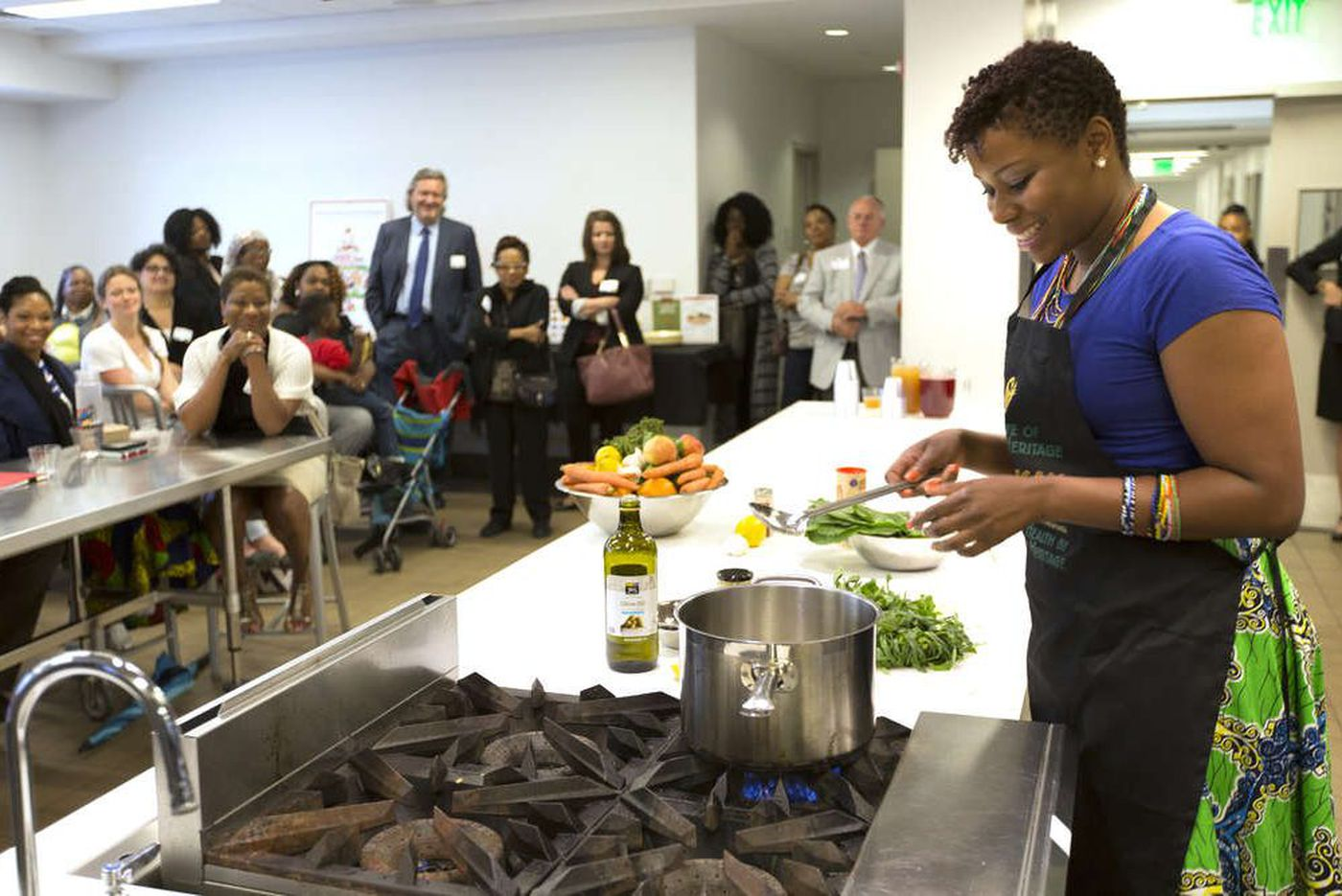 Get cooking at the Free Library's Culinary Literacy Center