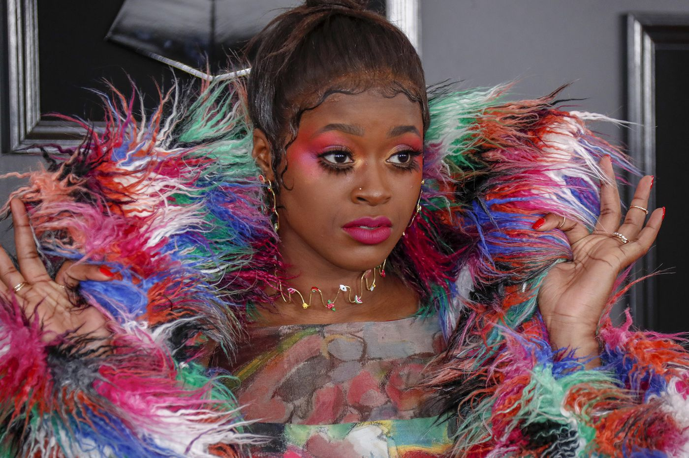 Philadelphia designer makes red carpet debut at the Grammys with Tierra Whack's Technicolor showstopper | Elizabeth Wellington