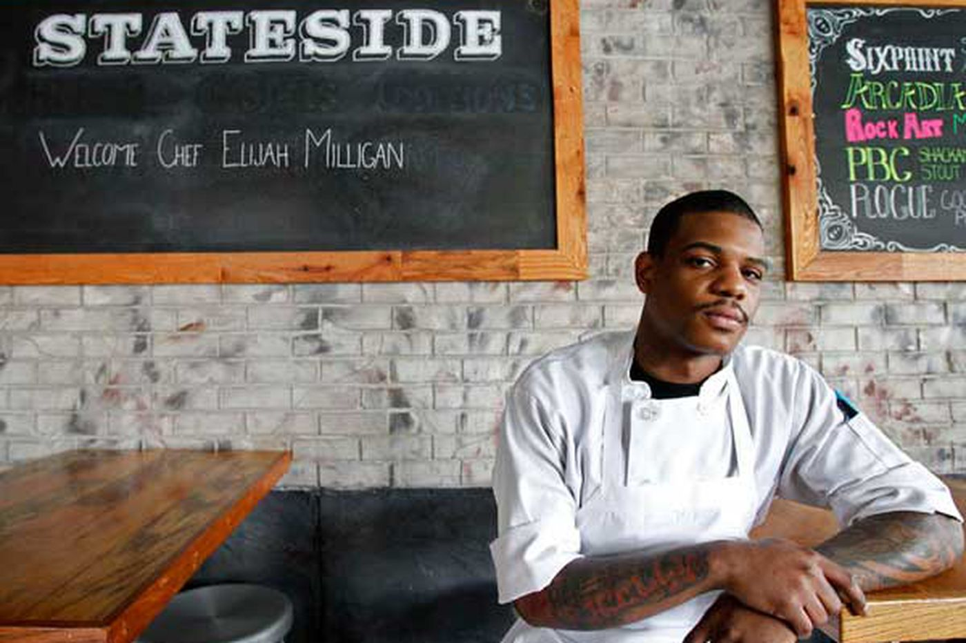Celebrating Success: Stellar Stateside meets its match with new chef Elijah Milligan