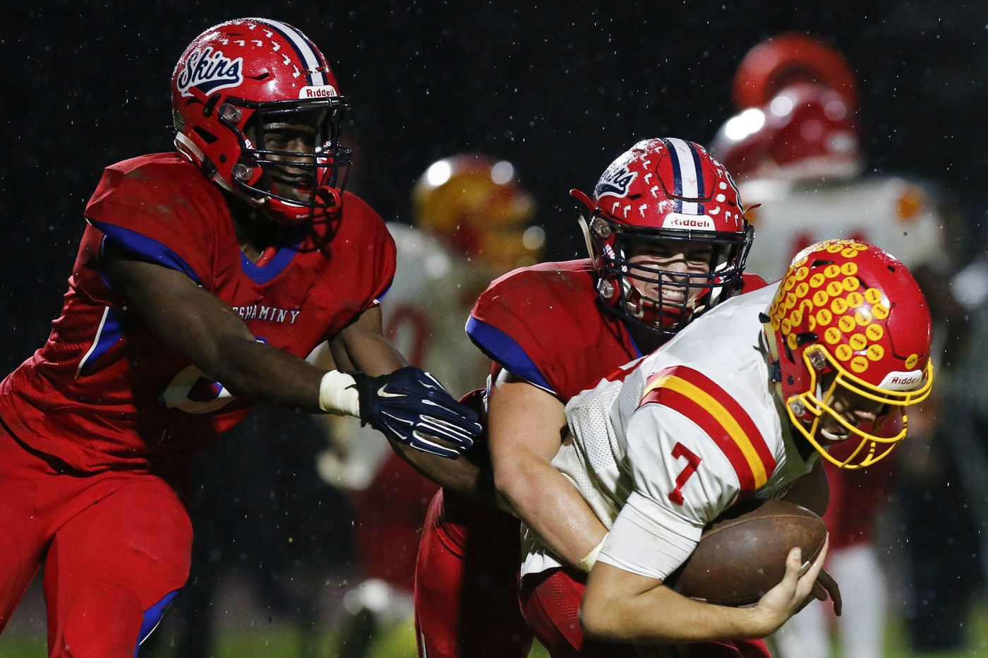 Cory Joyce, Neshaminy dominate Haverford High in football playoff opener