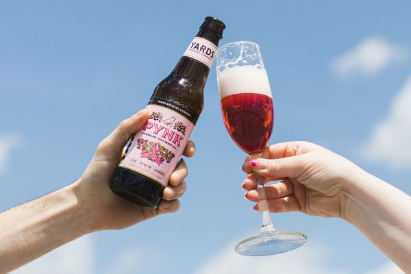 Yards' Pynk is now available year-round, and the brewery is holding a Pynk Affair to celebrate