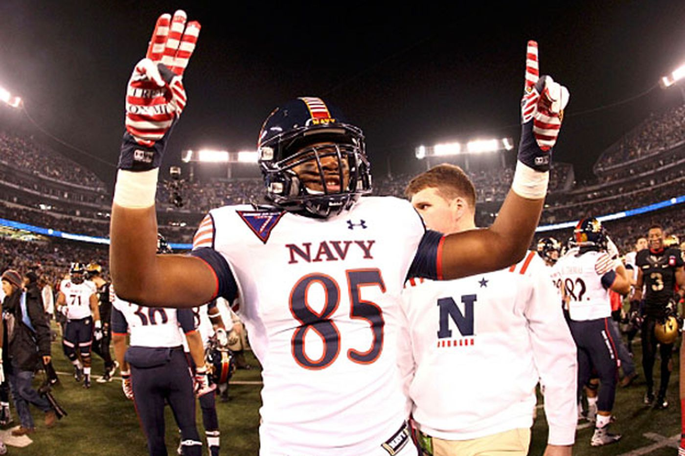 Navy tops Army for 13 straight year