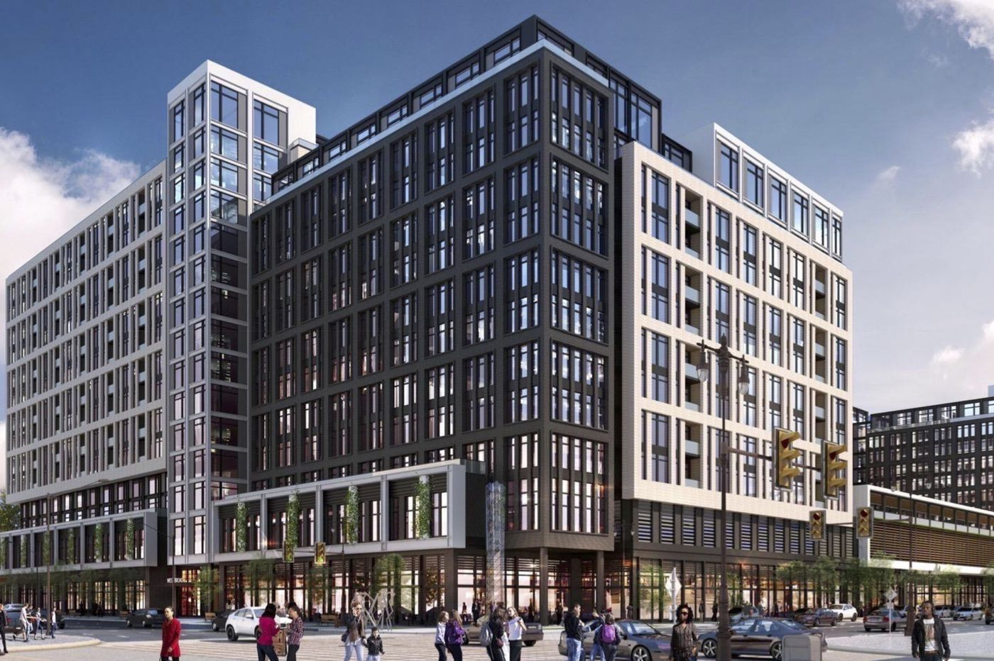 Newest plan for Blatstein's South Broad St. site calls for apartment towers over block-wide parking deck