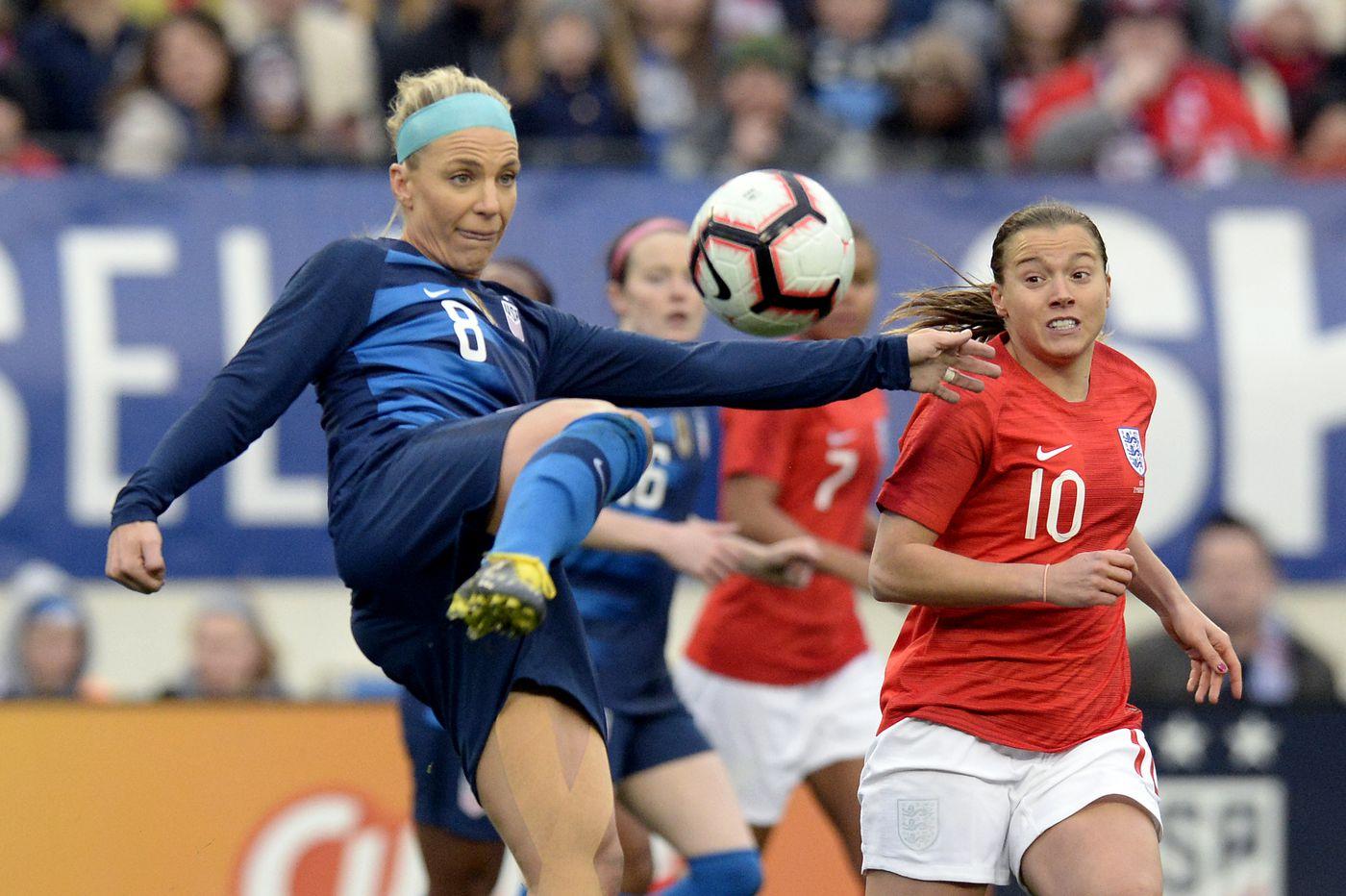 Tobin Heath, Megan Rapinoe score but USWNT held to 2-2 tie by England in SheBelieves Cup