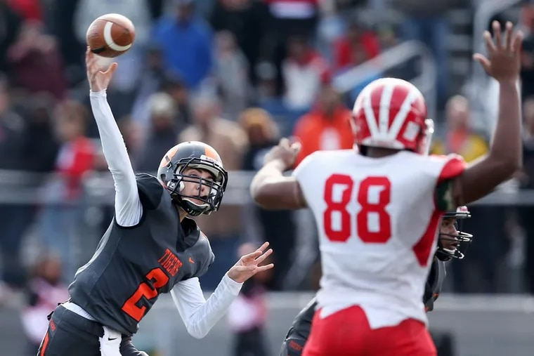 Woodrow Wilson junior Nick Kargman threw for 318 yards and three touchdowns in the S.J. 3 title game vs. Delsea.