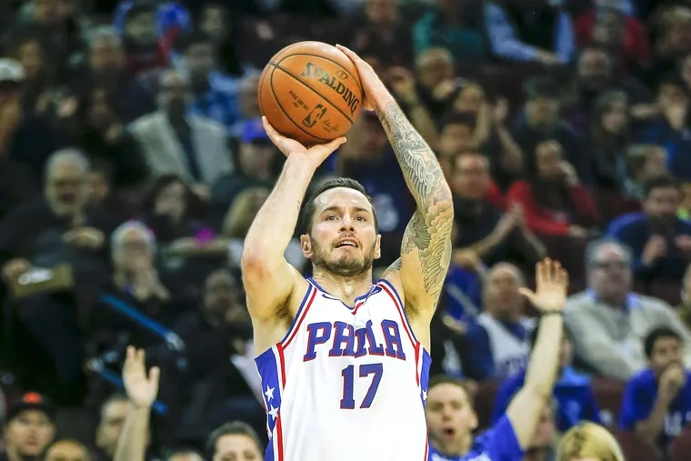JJ Redick agreed to come back to the Sixers on a one-year deal worth about $12 or $13 million.