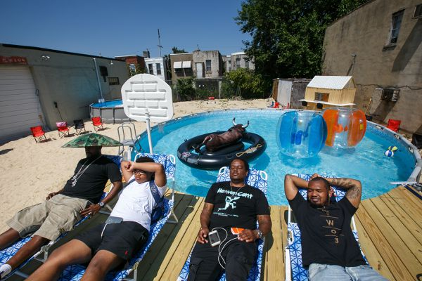 North Philly's 'beach' now closed for public events