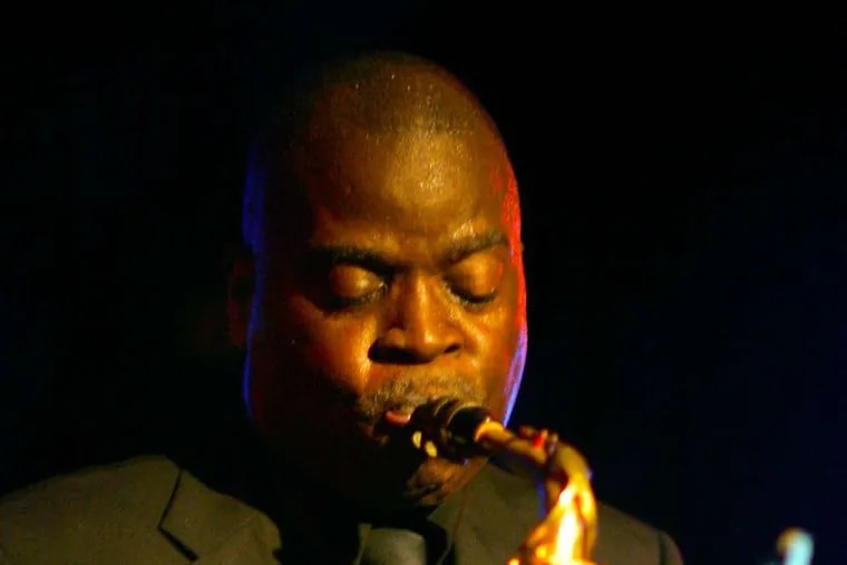 Saxophonist Maceo Parker brings his own distinctive sound to the Merriam Theater on Saturday.