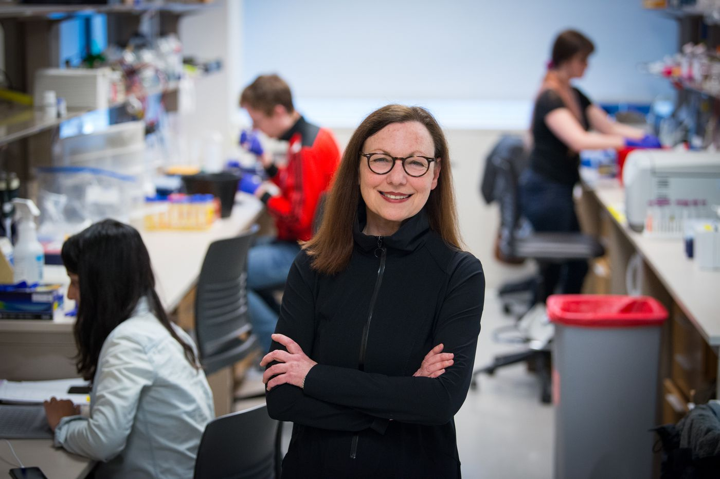 At a Penn lab, she studies ants that may offer clues into changing how humans age and behave