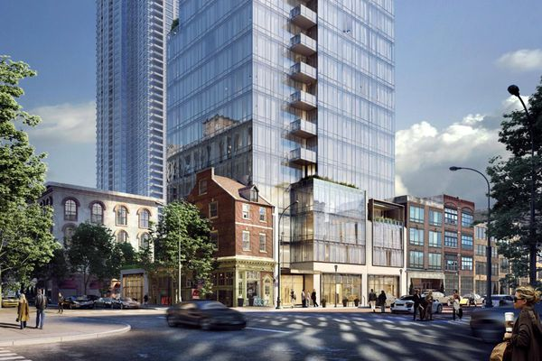 Toll effort to build Jewelers Row condo tower clears final design review on sour note, as team bolts meeting
