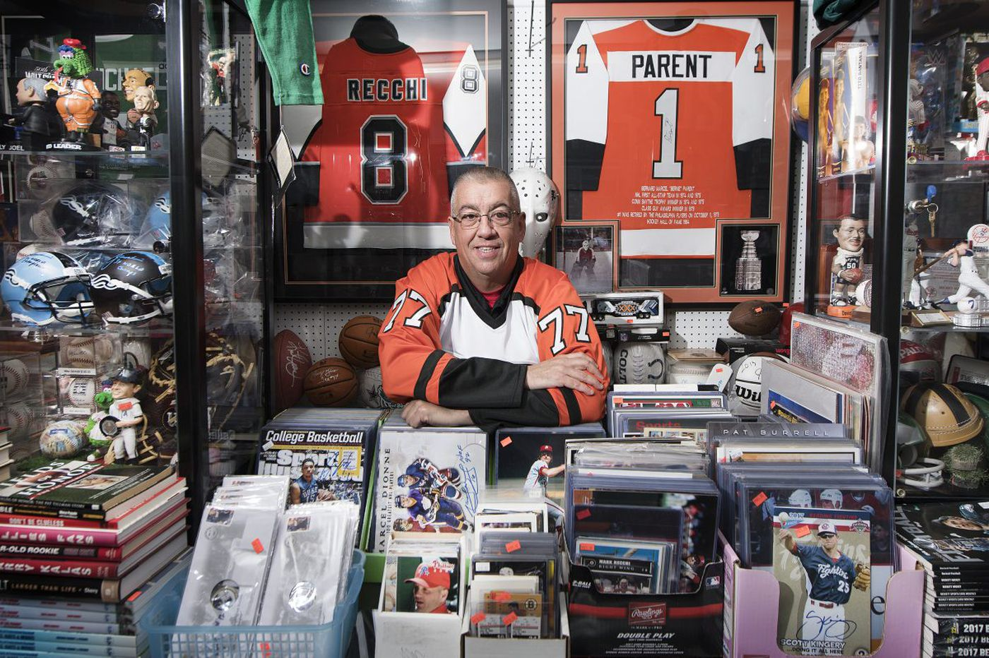 Carls Cards Owner Has Hosted More Than 600 Philly Sports Celebs