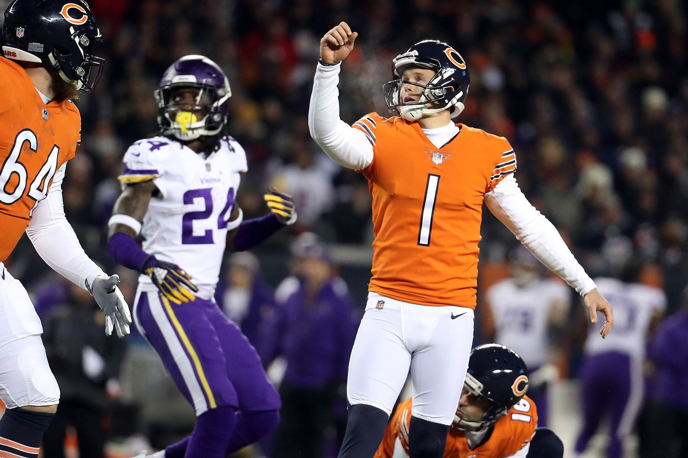 77d458bde4e Will former Eagles kicker Cody Parkey be the difference for the Bears on  Sunday?