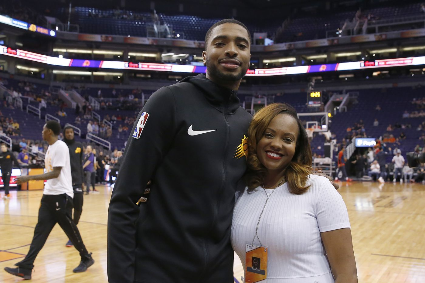 Tyneeha Rivers is behind the Sixers' diversity initiative and former Villanova star Mikal Bridges