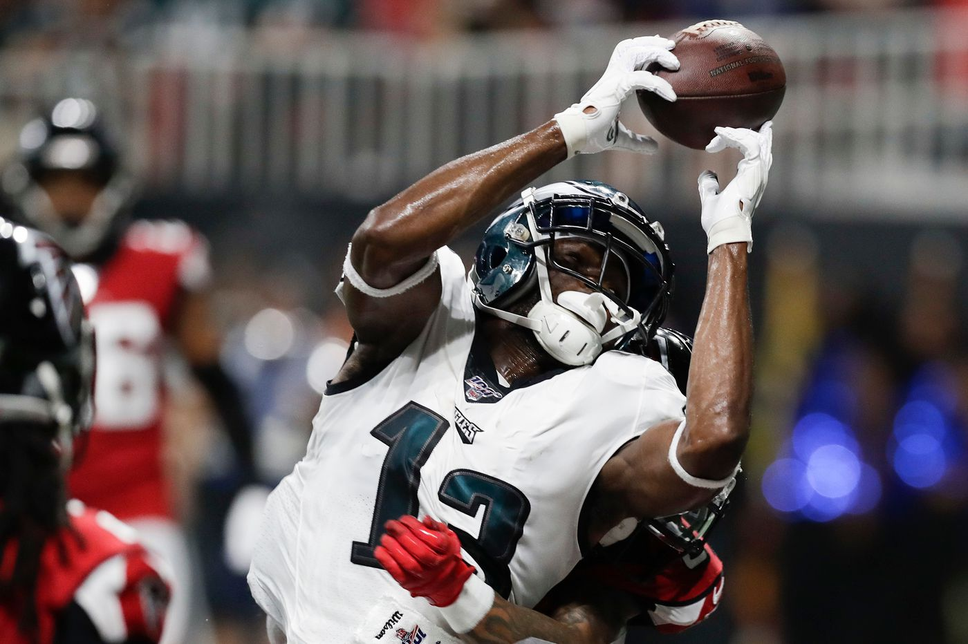 Nelson Agholor's drop cost the Eagles. Now he has to let go of the past again. | Mike Sielski