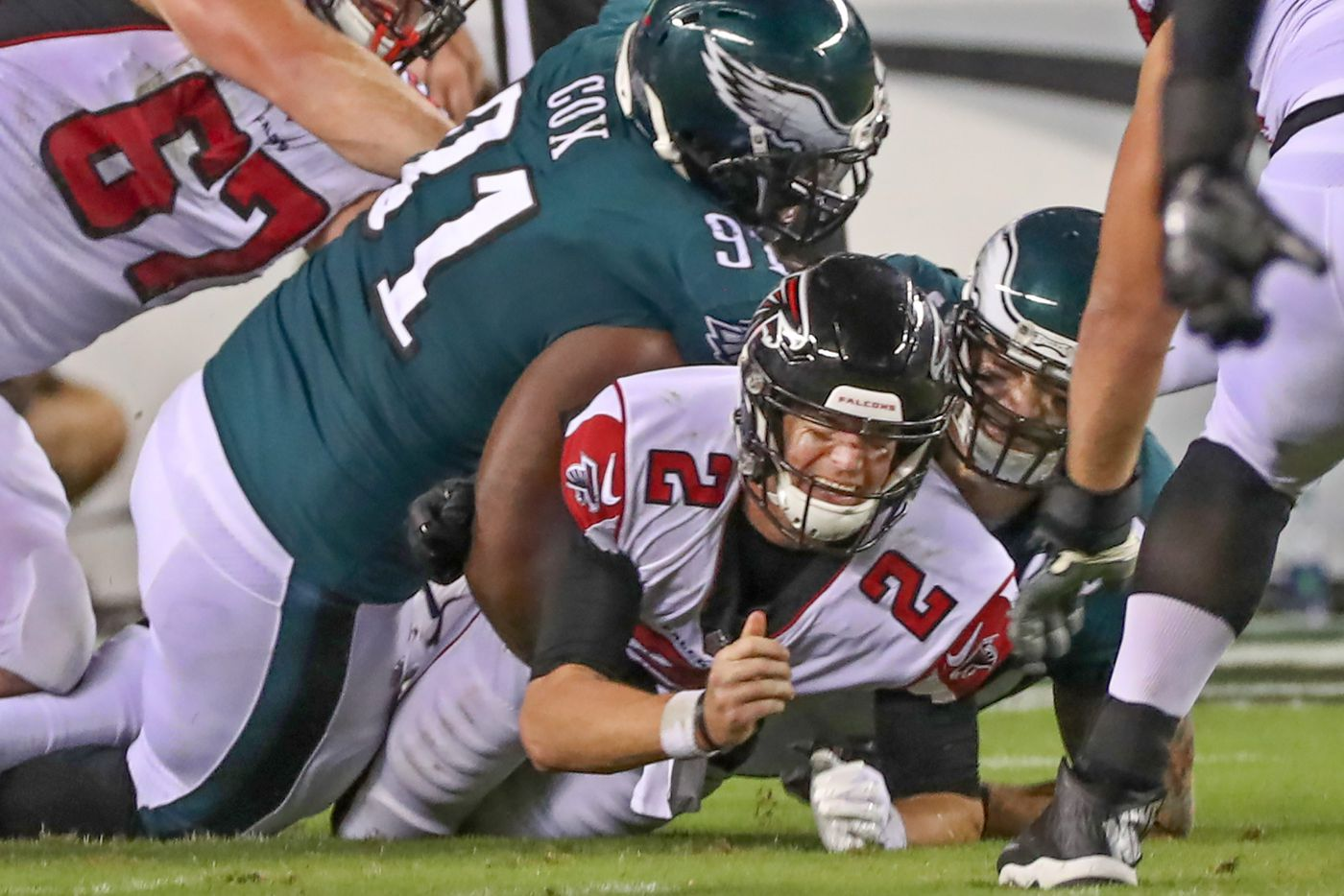 Eagles-Falcons: Birds' defense plays well enough to save a season-opening win   Bob Ford